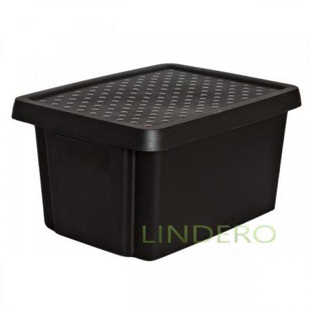 фото: Коробка с крышкой Essentials 16л черная [00753-101-00]