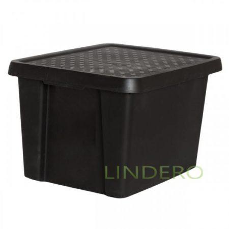 фото: Коробка с крышкой Essentials 26л черная [00755-101-00]