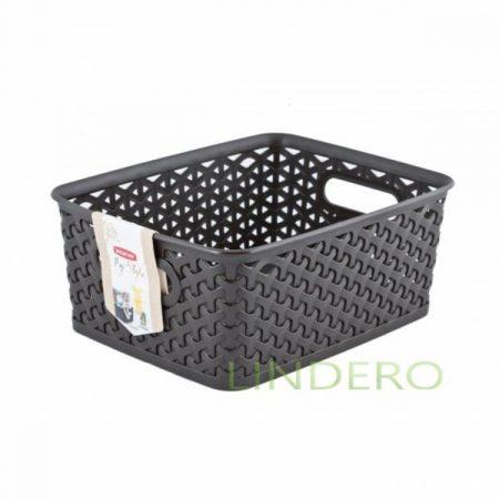 фото: Коробка для хранения MY STYLE M 13л темно-коричневая [03611-210-00]
