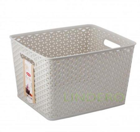 фото: Коробка для хранения MY STYLE L кремовая [03612-885-00]