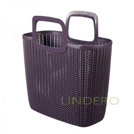 фото: Сумка для покупок KNIT фиолетовая 25л [03672-x66-00]