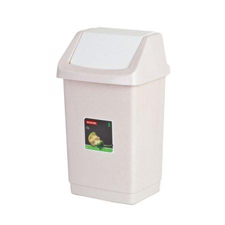 фото: Контейнер для мусора 9л CLICK-IT (84042) бежевый [04042-844]
