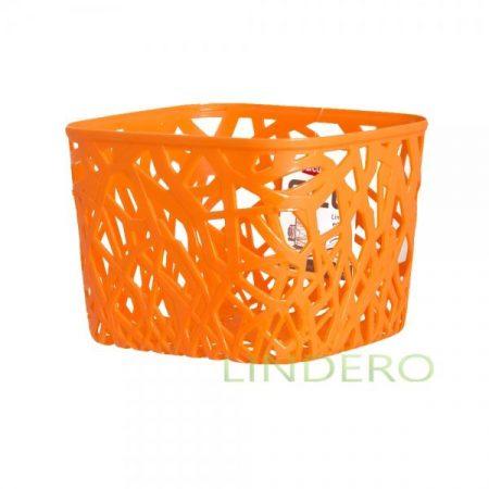 фото: Корзинка квадратная оранжевая NEO COLORS S [04160-370]