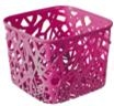 фото: Корзинка квадратная розовая NEO COLORS S [04160-437]