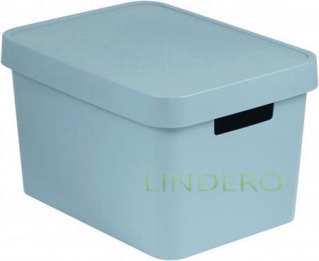 фото: Коробка INFINITY с крышкой 17л серая [04743-099-01]