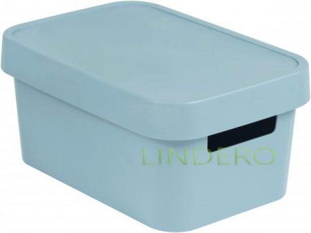 фото: Коробка INFINITY с крышкой 4.5л серая [04746-099-00]