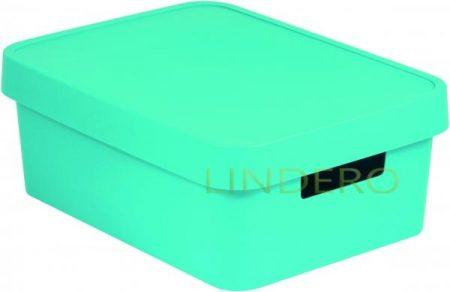 фото: Коробка INFINITY с крышкой 11л лазурная [04752-x34-00]