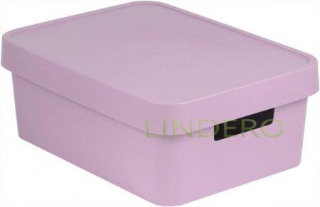 фото: Коробка INFINITY с крышкой 11л розовая [04752-x51-00]