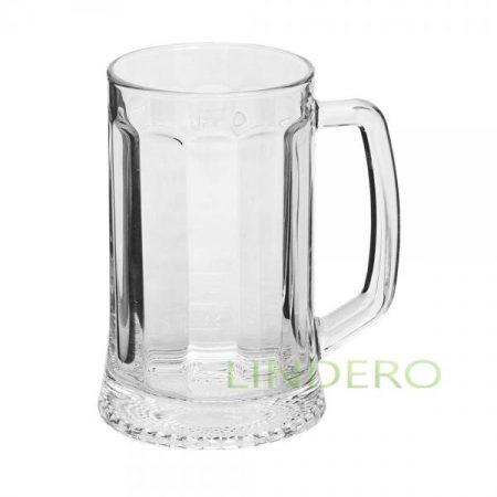 фото: Кружка для пива ЛАДЬЯ 500мл [04C1144]