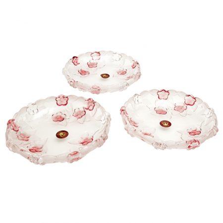 фото: Набор тарелок 3шт КАРМЕН розовая 16см [W1201122]
