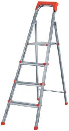 фото: Лестница-стремянка 4 ступени оцинкованная [1104]