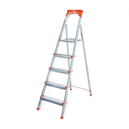 фото: Лестница-стремянка 5 ступеней оцинкованная [1105]