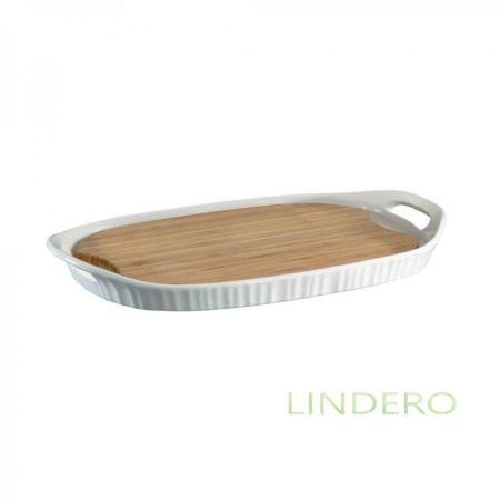 фото: Форма прямоуг 40х25см с бамбуковой доской [1105942]