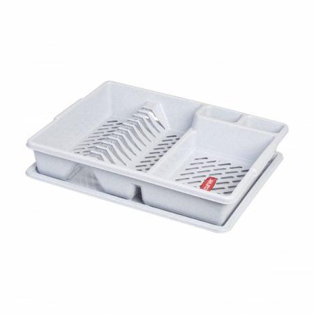 фото: Сушилка для посуды серый [13401-119]