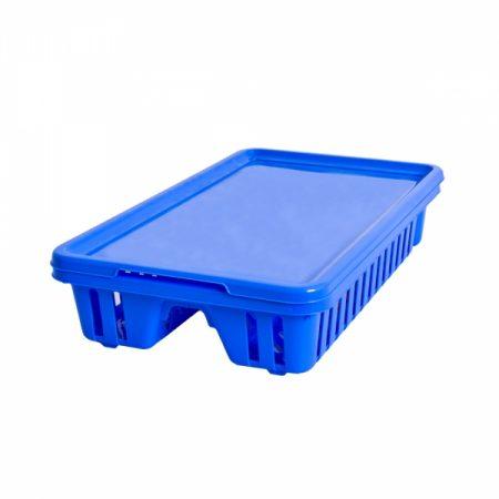 фото: Сушилка для посуды малая голубой [13402-082]