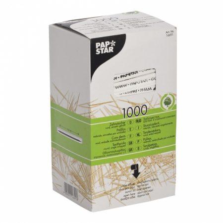 фото: Зубочистки деревянные 66мм в индивидуальной упаковке 1000шт (12673) [16691]