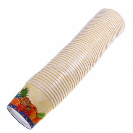 фото: Стакан под мороженое картонный 50шт [18060]