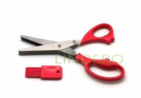 фото: Ножницы с мульти-лезвиями  [18LF-1005-R]