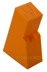 фото: Подставка для ножей универ. 21х14х7 Linia BLOCK [93-KN-WB-12]