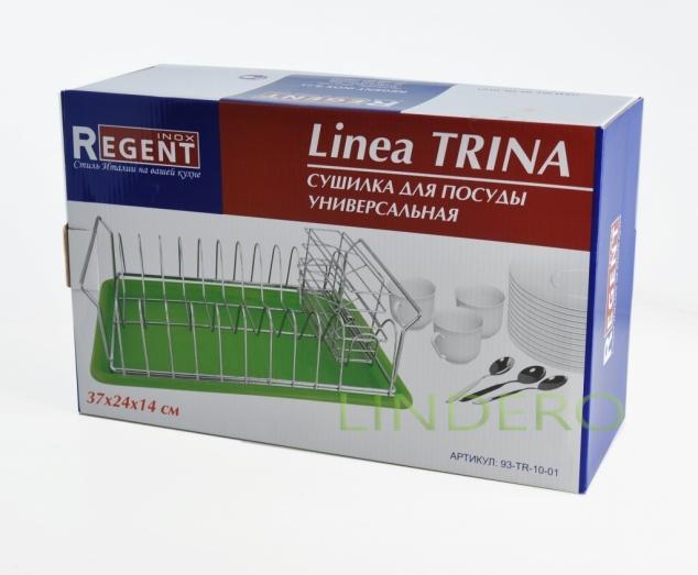 фото: Сушилка для посуды универсальная 37х24х14 Linea TRINA [93-TR-10-01]