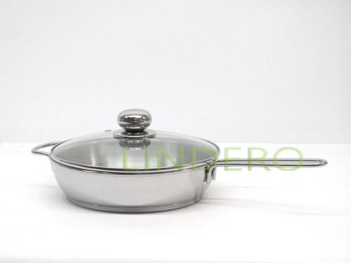 фото: Сковорода 1,5л с ТРС-3 стекл/кр. «Класика-прима» (200мм) [1с757]