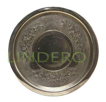 фото: Подставка латунная под кофеварку 18см [П18]