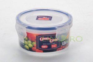 фото: Пластиковый контейнер для продуктов с зажимом  0.35 л [R2-1]