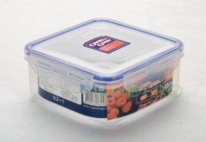 фото: Пластиковый контейнер для продуктов с зажимом  0.9 л [S2-1]