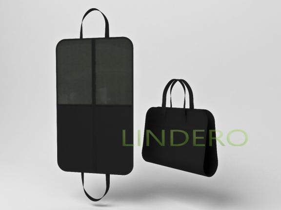 фото: Чехол (портплед) для переноски и хранения костюмов (черный) 100х60см [портплед]