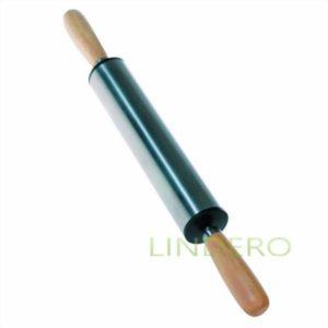 фото: Скалка Presto из нержавеющей стали, 25х5 см [93-AC-PR-11]