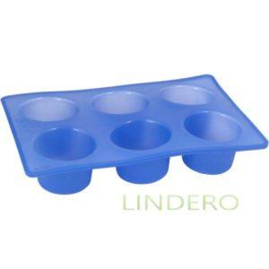 фото: Форма Silicone для кексов, 28,5х19х5 см [93-SI-FO-06]