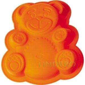 "фото: Форма Silicone для пирога ""Медвежонок"", 26х23,5х4 см [93-SI-FO-20]"
