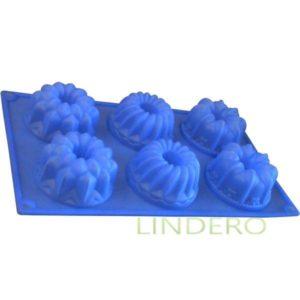 """фото: Форма Silicone для кексов""""Ассорти"""", 30х17,5х4 см [93-SI-FO-26]"""