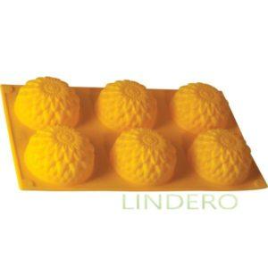 """фото: Форма для выпечки Silicone """"Золотой шар"""", 30х17х3,5 см [93-SI-FO-28]"""