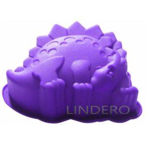 "фото: Форма для выпечки Silicone ""Стегозавр"", 10x13x4 см [93-SI-FO-99]"