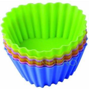 """фото: Набор форм для выпечки Silicone """"Тарталетки-сердца"""", 8х3,5 см [93-SI-S-17.2]"""