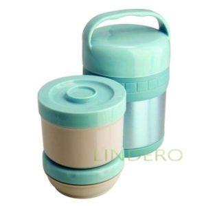 фото: Термос ланч-бокс Soup на 2 лотка, 1 л [93-TE-S-3-1000T]