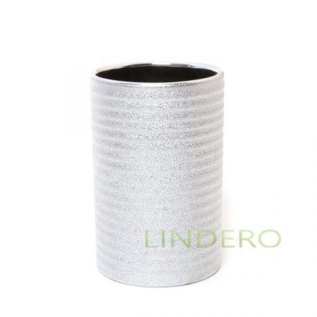 фото: Стакан для зубных щеток керамический POLARIS JUWEL silver [21992100]