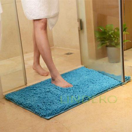 фото: Коврик для ванной 50x80cм CHENILLE blue [22340100]