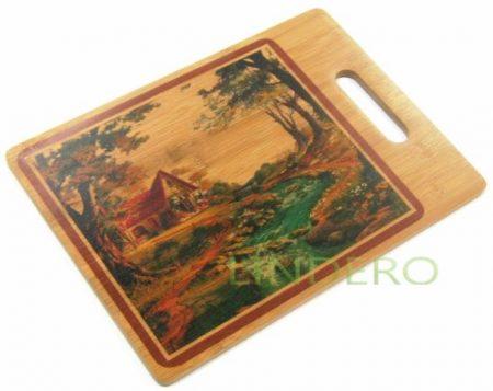 фото: Доска кухонная бамбук [28HS-3507]