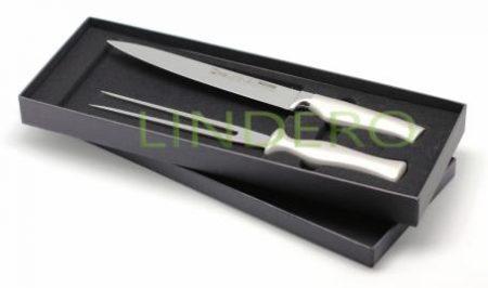 фото: Набор разделочный нож+вилка  [30021]