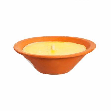 фото: Свеча ЦИТРОНЕЛЛА в керамической чаше большая 13 ч [556021010]