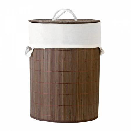 фото: Корзина для хранения бамбук 34х45см 40л [ASB040]