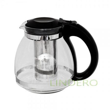 фото: Чайник с фильтром металлическим KATRINA 1500мл [atg115]
