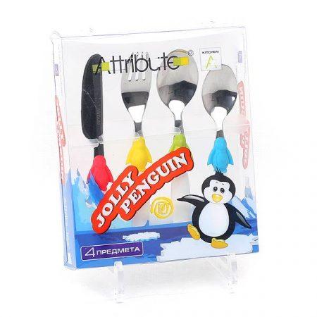 фото: Столовые приборы для детей Jolly Penguin [ACJ104]