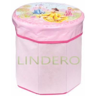 фото: Коробка для хранения Disney Princess, 30х30х28 см. [ASC030]
