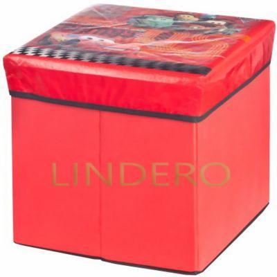 фото: Коробка для хранения Disney Cars, 30х30х28 см. [ASC130]