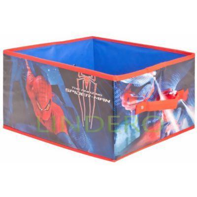 фото: Коробка для хранения Spider Man, 33х28.5х20 см. [ASC328]