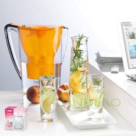 """фото: Фильтр-кувшин для очистки воды """"BWT Пингвин"""" манговый фреш, 2,7 л [b903310]"""