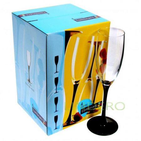 фото: Фужер для шампанского ДОМИНО 170мл [L2830]